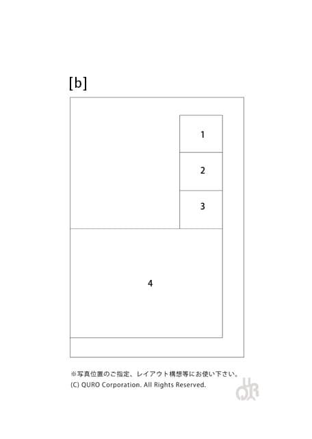 型番【b】画像配置図