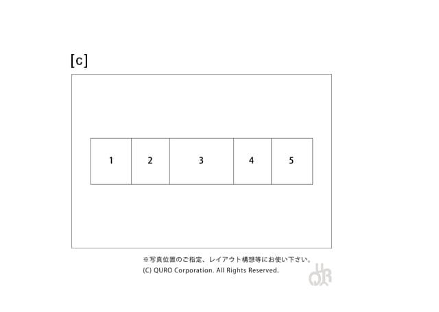 型番【c】画像配置図