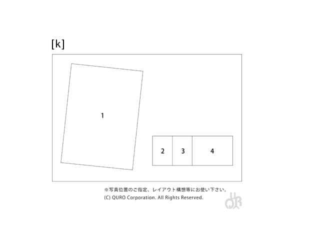 型番【k】画像配置図