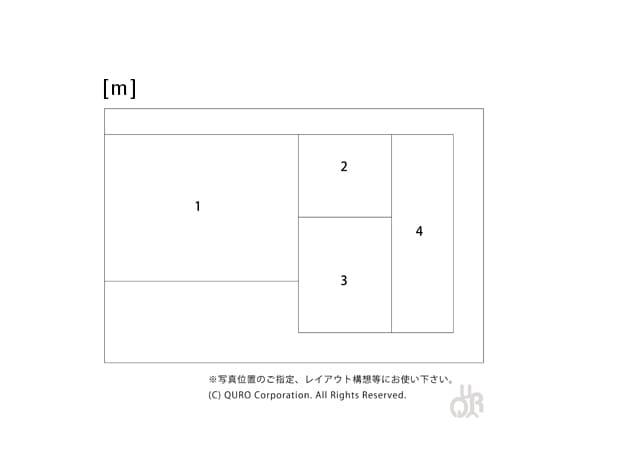 型番【m】画像配置図